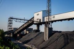 Ορυχείο για τον άνθρακα στοκ φωτογραφίες