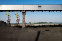 Ορυχείο για τον άνθρακα στοκ εικόνα