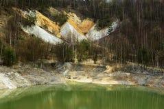 ορυχείο καολίνη Στοκ Φωτογραφίες