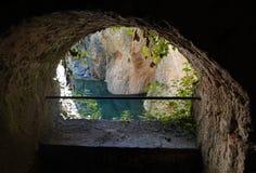 Ορυχείο νερού της Ronda στην Ανδαλουσία, Ισπανία στοκ εικόνες με δικαίωμα ελεύθερης χρήσης