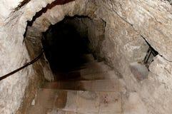 Ορυχείο νερού - Ronda - Ισπανία στοκ εικόνες