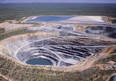 Ορυχείο ουράνιου Στοκ Εικόνες
