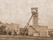 Ορυχείο παλαιές φωτογραφίες Στοκ φωτογραφίες με δικαίωμα ελεύθερης χρήσης