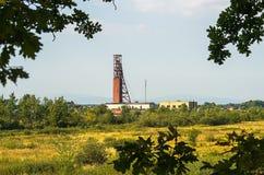 Ορυχείο, πύργος Στοκ εικόνες με δικαίωμα ελεύθερης χρήσης