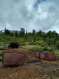 Ορυχείο σιδήρου στοκ φωτογραφία με δικαίωμα ελεύθερης χρήσης