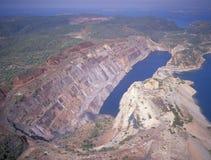 Ορυχείο σιδηρομεταλλεύματος στοκ φωτογραφία