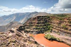 Ορυχείο σιδηρομεταλλεύματος Ngwenya - Σουαζιλάνδη στοκ φωτογραφίες με δικαίωμα ελεύθερης χρήσης