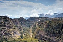 Ορυχείο σιδηρομεταλλεύματος Ngwenya - Σουαζιλάνδη στοκ φωτογραφίες