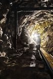 Ορυχείο στη Σλοβακία στοκ φωτογραφίες με δικαίωμα ελεύθερης χρήσης
