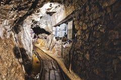 Ορυχείο στη Σλοβακία στοκ εικόνες με δικαίωμα ελεύθερης χρήσης