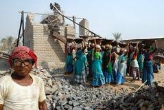 ορυχείο της Ινδίας θραυ& Στοκ Εικόνες