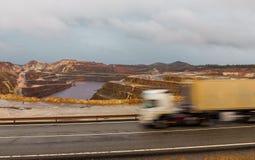 Ορυχείο του Ρίο Tinto Στοκ εικόνα με δικαίωμα ελεύθερης χρήσης