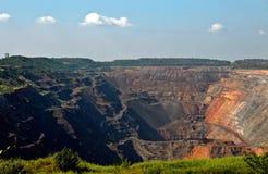 ορυχείο υπαίθριο Στοκ Εικόνα