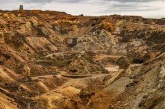 Ορυχείο χαλκού βουνών Parys, Anglesey, βόρεια Ουαλία στοκ φωτογραφίες με δικαίωμα ελεύθερης χρήσης