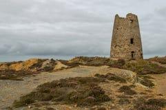 Ορυχείο χαλκού βουνών Parys, Anglesey, βόρεια Ουαλία στοκ φωτογραφίες