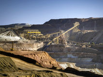 ορυχείο χαλκού Στοκ Φωτογραφίες