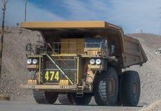 Ορυχείο χαλκού Chuquicamata, Χιλή στοκ εικόνα με δικαίωμα ελεύθερης χρήσης