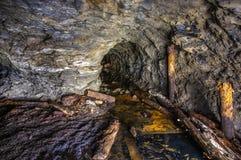 ορυχείο χρυσού παλαιό στοκ εικόνες