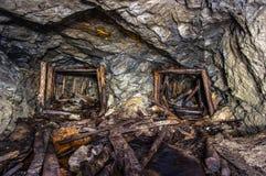 ορυχείο χρυσού παλαιό στοκ εικόνα