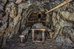 ορυχείο χρυσού παλαιό στοκ φωτογραφίες