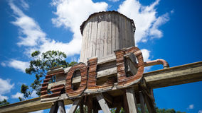 Ορυχείο χρυσού στοκ εικόνα