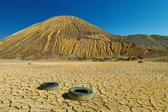 Ορυχείο Bor Dezert Στοκ εικόνα με δικαίωμα ελεύθερης χρήσης