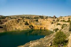 ορυχείο burra Στοκ εικόνες με δικαίωμα ελεύθερης χρήσης