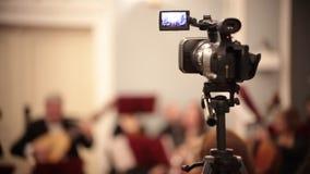 Ορχήστρα αιθουσών Μια κάμερα που καταγράφει μια μουσική απόδοση φιλμ μικρού μήκους