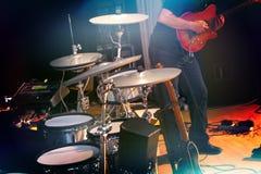Ορχήστρα ροκ Στοκ Φωτογραφίες