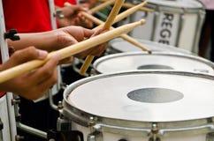 ορχήστρα drummans που παίζει Στοκ Εικόνες