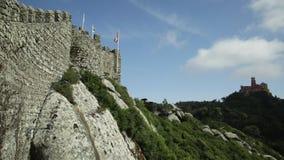 Ορόσημα σε Sintra απόθεμα βίντεο