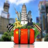 Ορόσημα της Κίνας, Κίνα στοκ εικόνες