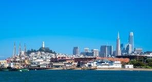 Ορόσημα του Σαν Φρανσίσκο Στοκ Εικόνες