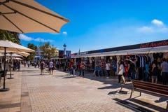 Ορόσημα Sitges στη Βαρκελώνη, Ισπανία Στοκ Εικόνες
