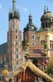 ορόσημο Πολωνία της Κρακ&om Στοκ φωτογραφία με δικαίωμα ελεύθερης χρήσης