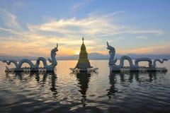 Ορόσημο σε Phayao στοκ εικόνες