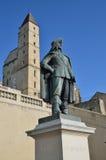 Ορόσημο της αρχαίας γαλλικής πόλης Aush Στοκ εικόνες με δικαίωμα ελεύθερης χρήσης