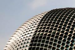 Ορόσημο της Σιγκαπούρης: Esplanade θέατρα στον κόλπο Στοκ Φωτογραφίες