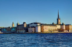 Ορόσημο της Σουηδίας Στοκχόλμη στοκ φωτογραφία με δικαίωμα ελεύθερης χρήσης