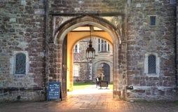 15ος αιώνας μεγάρων Sevenoaks παλαιός αγγλικός Κλασικό αγγλικό δευτερεύον σπίτι χωρών UK Στοκ Εικόνες