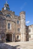15ος αιώνας μεγάρων Sevenoaks παλαιός αγγλικός Κλασικό αγγλικό δευτερεύον σπίτι χωρών UK Στοκ φωτογραφία με δικαίωμα ελεύθερης χρήσης