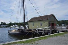 19ος αιώνας που αλιεύει schooner Στοκ φωτογραφίες με δικαίωμα ελεύθερης χρήσης