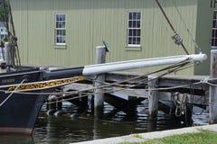 19ος αιώνας που αλιεύει schooner Στοκ Φωτογραφίες