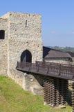 14ος αιώνας Dobczyce Castle στη λίμνη Dobczyce, κοντά στην Κρακοβία, Πολωνία Στοκ φωτογραφία με δικαίωμα ελεύθερης χρήσης