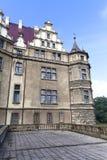 17ος αιώνας Moszna Castle στην ηλιόλουστη ημέρα, ανώτερη Σιλεσία, Πολωνία Στοκ φωτογραφία με δικαίωμα ελεύθερης χρήσης