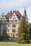 17ος αιώνας Moszna Castle στην ηλιόλουστη ημέρα, ανώτερη Σιλεσία, Πολωνία Στοκ Φωτογραφίες