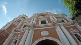 16ος αιώνας Saint-Paul ο πρώτος καθεδρικός ναός ερημιτών που παρουσιάζει πρόσοψή της απόθεμα βίντεο