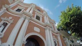 16ος αιώνας Saint-Paul ο πρώτος καθεδρικός ναός ερημιτών που παρουσιάζει πρόσοψή της φιλμ μικρού μήκους