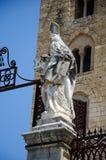 13ος καθεδρικός ναός Cefalu αιώνα σε Cefalu, Σικελία Στοκ εικόνα με δικαίωμα ελεύθερης χρήσης