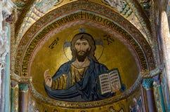 13ος καθεδρικός ναός Cefalu αιώνα σε Cefalu, Σικελία Στοκ φωτογραφίες με δικαίωμα ελεύθερης χρήσης